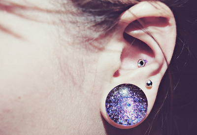 cute, ear, fashion, girl, nice, piercing