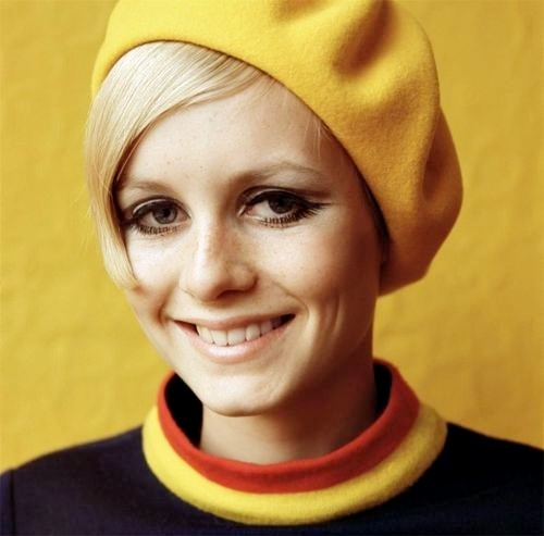 cute, face, model, twiggy, vintage