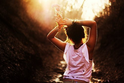 dance, dream, freedom, girl, hands, nature, sun, wish