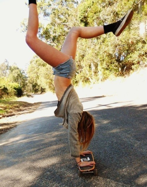 dance, girl, skateboard