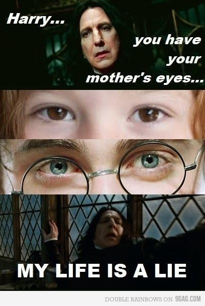 deathly hallows, harry potter, lilly potter, severus snape, snape