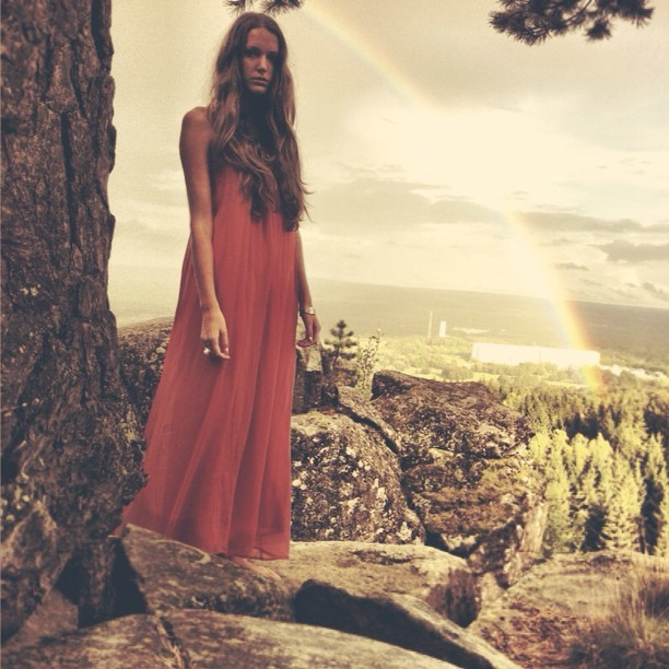dress, girl, love, mountain, photography
