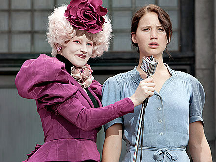 effie trinket, katniss everdeen, movie, the hunger games