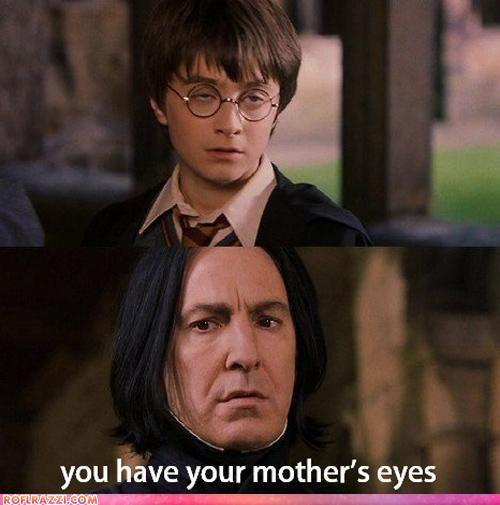 eyes, funny, harry potter, snape