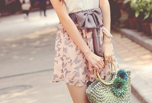 fashion, flower, loop