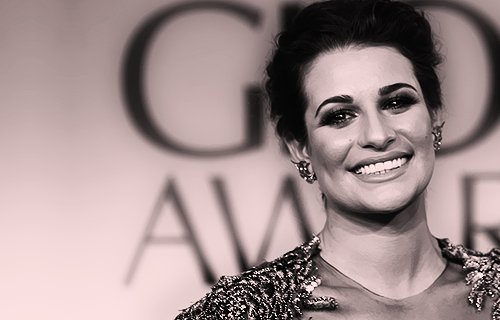 flawless, glee, golden globe 2012, lea michele