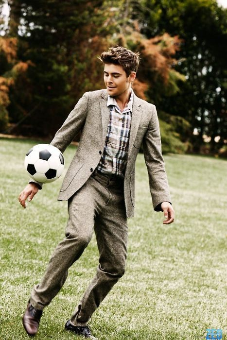 football, soccer, zac efron