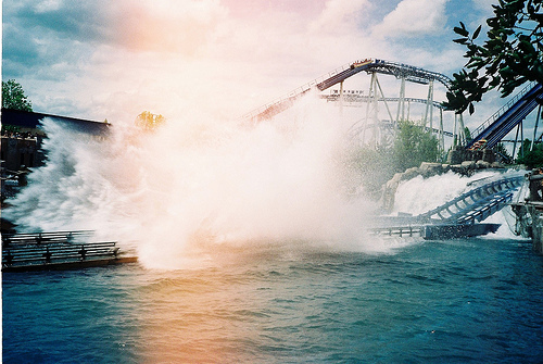 fun, photography, roller coaster, sun, sunshine