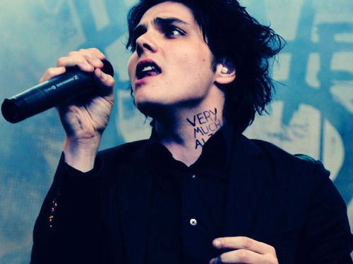 gee way, gerard way, mcr