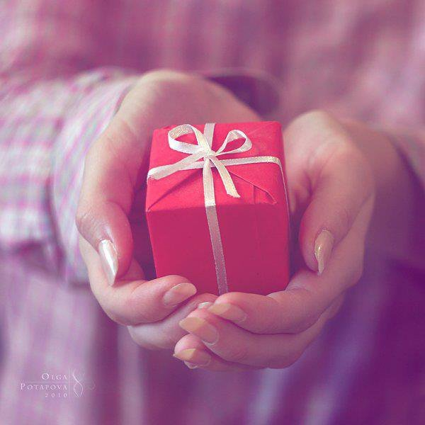gift, girl, hands, photography, present