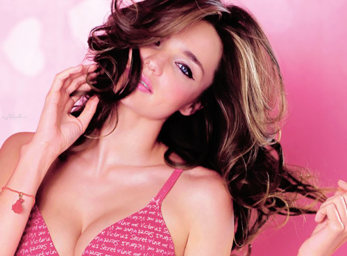 girl, hair, miranda kerr, model, pretty, victoria secret