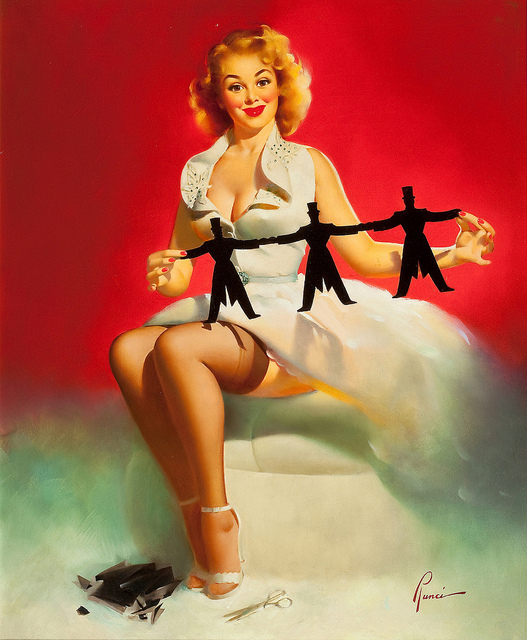 girls , pin up, retro, vintage