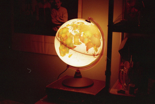 globe, lamp, light, light-up globe, lighted globe