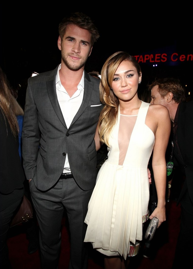 gorgeous, liam hemsworth, miley and liam, miley cyrus