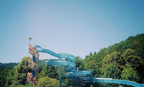 happy, hipster, photography, retro, slide, summer, water