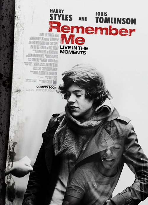 harry styles, louis tomlinson, remember me