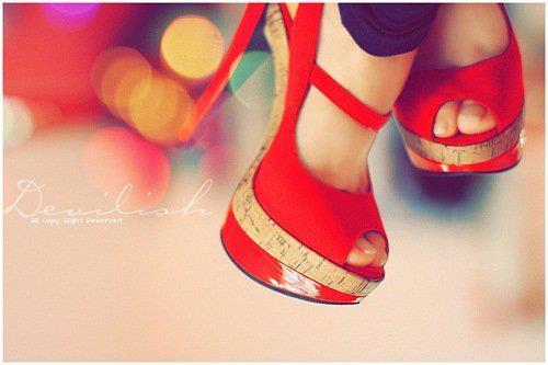 heels, high heels, red shoes