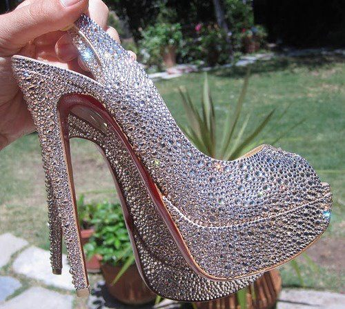 heels, louboutin, shoes