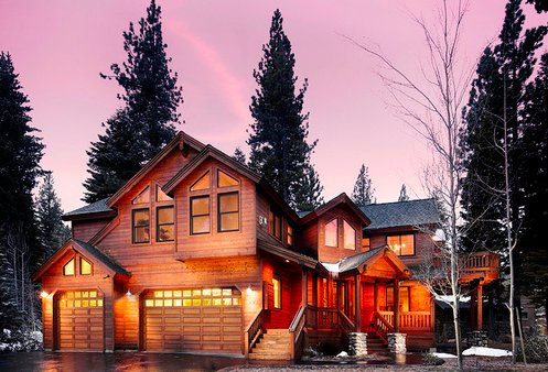 home, house, luxury, skiing, snow, winter