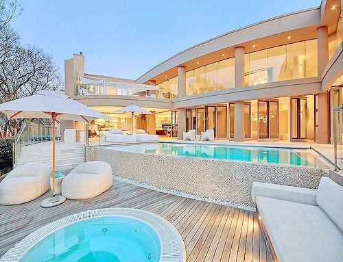 house, luxury, pool