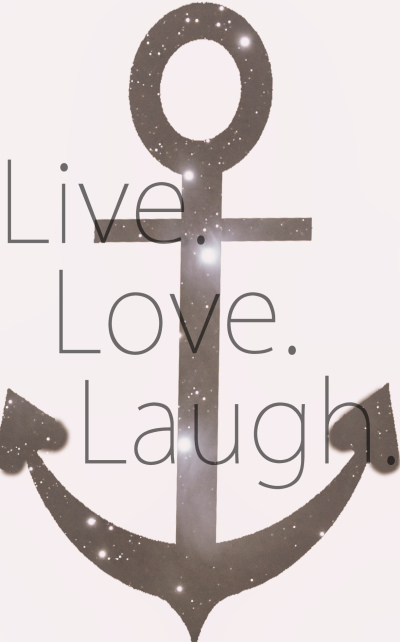 laugh, live, love, stars