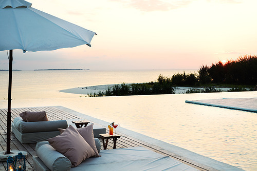 luxury, ocean, paradise, pool, sky, water