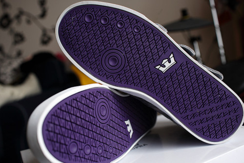 purple, shoes, supra
