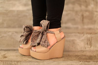 *-*, black, bow, brown, fashion