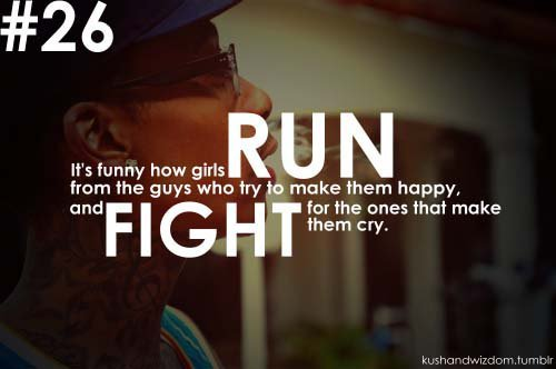 #26, Boy, Fight, Girl, Quote