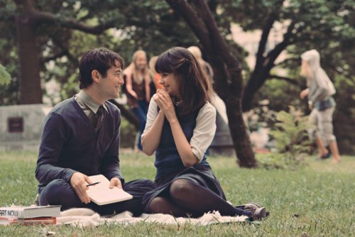 500 days of summer, actress, beautiful, charming, cute