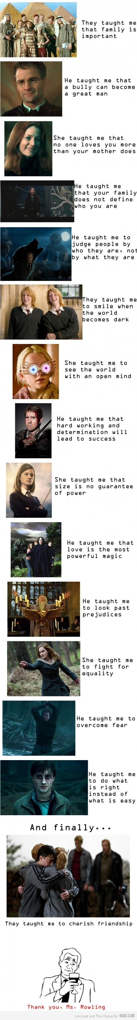 9gag, harry potter, learn, potter, rowling