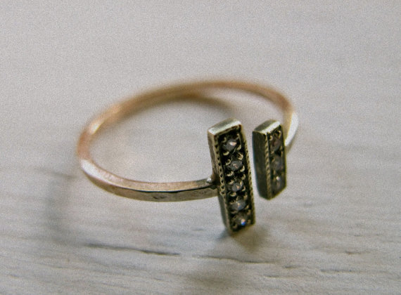 accessories, boho, buy, diamond, etsy, fashion, for sale, gold, jewelry, oxidized, pretty, produkt, ring, rose, rose gold, side by side, silver, unique, vintage