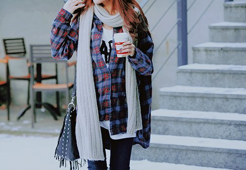 accessories, cardigan, clothes, coffee, fashion, starbucks coffee