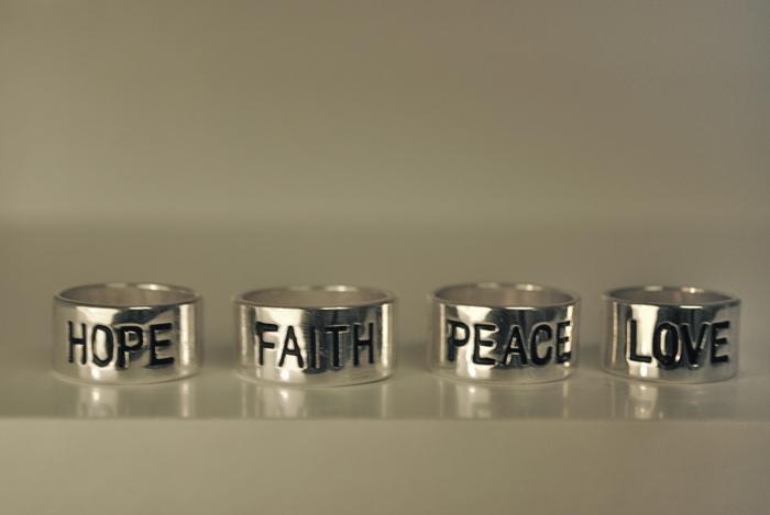 accessories, faith, fashion, hope, love