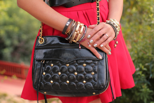 accessorize, adorable, bag, beautiful, black