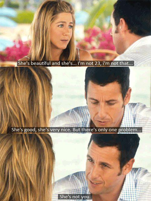 adam sandler, boy, girl, jennifer aniston, love