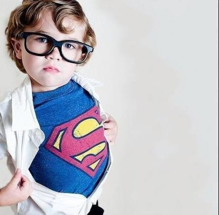 adorable, baby, boy, clark kent, cute, dc, glasses, marvel, not marvel, so cute, superman