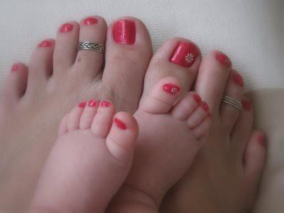 adorable, baby, cute, mummy, nail polish