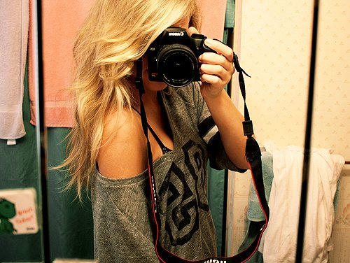 adorable, bathroom, blonde hair, canon, fashion, girl, hair, nice