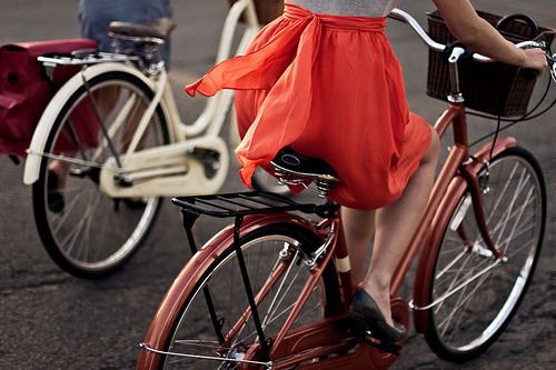 adorable, bike, creative, girl, perfect, photography, vintage