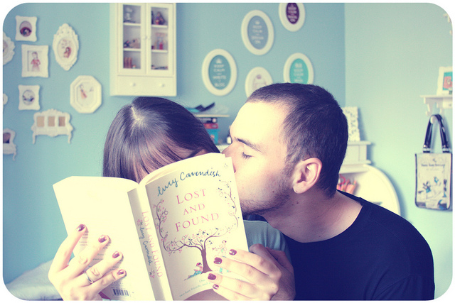 adorable, book, boy, couple, cute