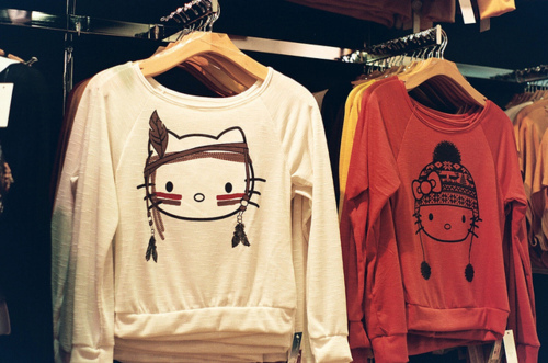 adorable, concert, cute, fashion, girls generation, hello kitty, indian, into the new world, kfashion, outfit, shirt, snsd, swag, sweater