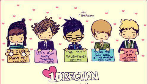 adorable, cute, one direction, pink