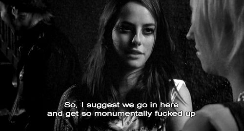 alcohol, beautiful, beauty, black and white, effy, effy stonem, fuck up, fucked up, fun, kaya scodelario, life, naomi, party, quote, skins, skins uk, suggest, text