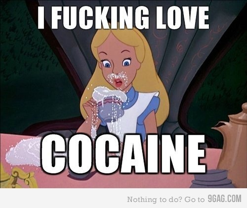 alice, cocaine, disney