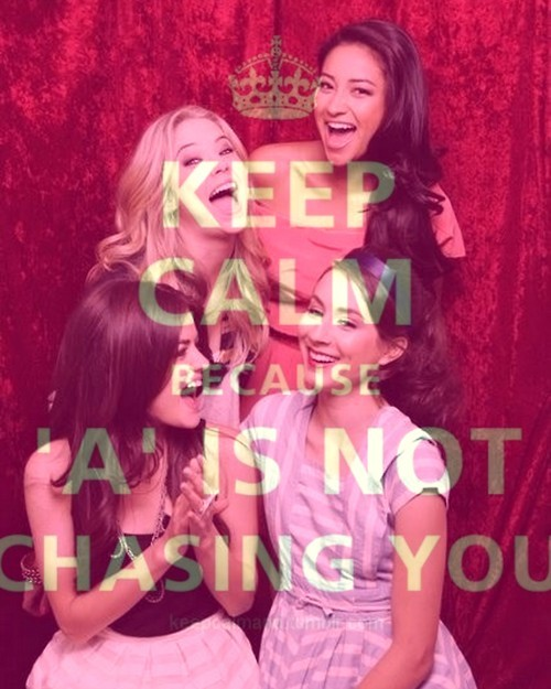 alisson, aria, emily, hanna, keep calm