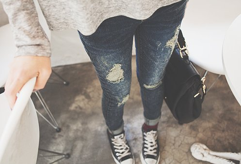 all star, black, converse, fashion, girl, grey, jean, jeans