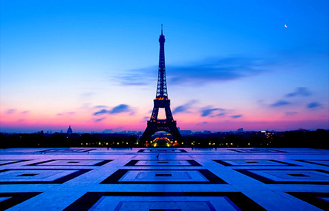 amazing, awesome, building, eiffel, eiffel tower, ground, lights, moon, nice cute, paris, sky