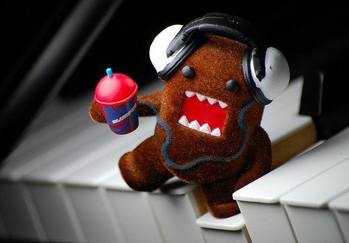 amazing, awesome, cool black, cute, domo