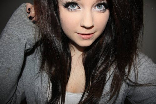 amazing, beautiful, blue eyes, brown, brown hair